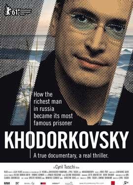 Khodorkovsky - 27 x 40 Movie Poster - Swiss Style A