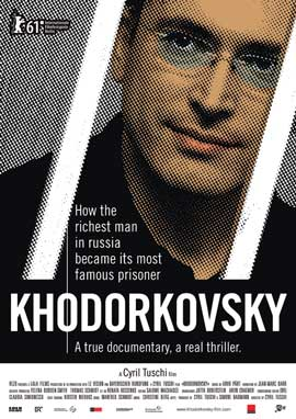 Khodorkovsky - 11 x 17 Movie Poster - Swiss Style B