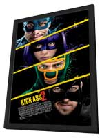Kick-Ass 2 - 27 x 40 Movie Poster - Style B - in Deluxe Wood Frame