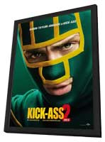 Kick-Ass 2 - 27 x 40 Movie Poster - Style D - in Deluxe Wood Frame