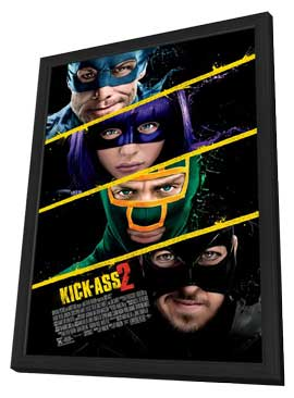 Kick-Ass 2 - 11 x 17 Movie Poster - Style B - in Deluxe Wood Frame