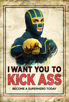 Kick-Ass - 43 x 62 Movie Poster - Bus Shelter Style K