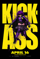 Kick-Ass - 11 x 17 Movie Poster - Style P