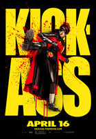Kick-Ass - 43 x 62 Movie Poster - Bus Shelter Style R