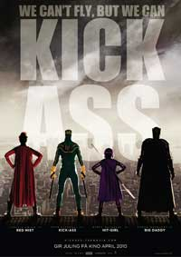 Kick-Ass - 27 x 40 Movie Poster - Norwegian Style A
