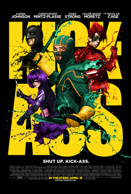 Kick-Ass - 43 x 62 Movie Poster - Bus Shelter Style I