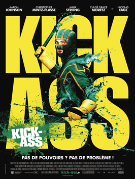Kick-Ass - 27 x 40 Movie Poster - French Style A