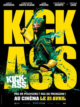 Kick-Ass - 11 x 17 Movie Poster - French Style C