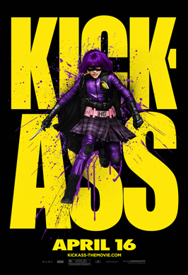 Kick-Ass - 43 x 62 Movie Poster - Bus Shelter Style P