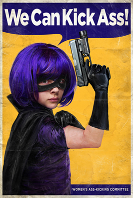 Kick-Ass - 43 x 62 Movie Poster - Bus Shelter Style Q