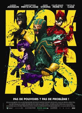 Kick-Ass - 11 x 17 Movie Poster - French Style F