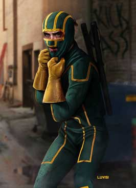 Kick-Ass - 8 x 10 Color Photo #2