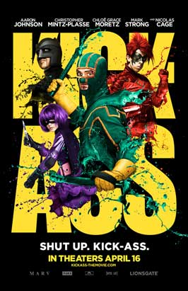 Kick-Ass - 11 x 17 Movie Poster - Style A - Double Sided