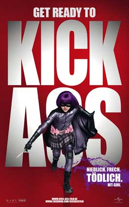Kick-Ass - 27 x 40 Movie Poster - German Style D