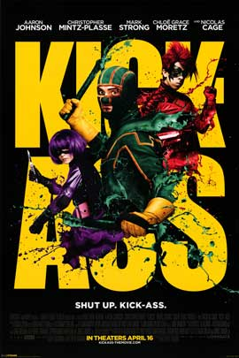 Kick-Ass - Movie Poster - 24 x 36 - Style A