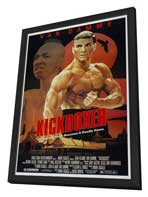 Kickboxer - 11 x 17 Movie Poster - Style A - in Deluxe Wood Frame