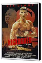 Kickboxer - 27 x 40 Movie Poster - Style A - Museum Wrapped Canvas