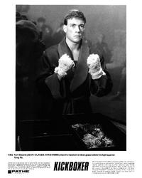 Kickboxer - 8 x 10 B&W Photo #2