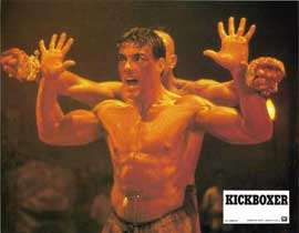 Kickboxer - 11 x 14 Movie Poster - Style Q