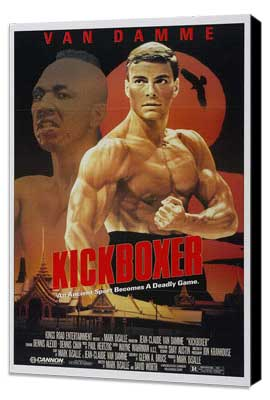 Kickboxer - 11 x 17 Movie Poster - Style A - Museum Wrapped Canvas