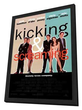 Kicking and Screaming - 27 x 40 Movie Poster - Style A - in Deluxe Wood Frame