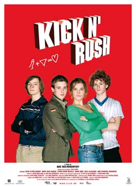 Kick'n Rush - 27 x 40 Movie Poster - Style A