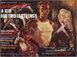 A Kid for Two Farthings - 27 x 40 Movie Poster - Style A