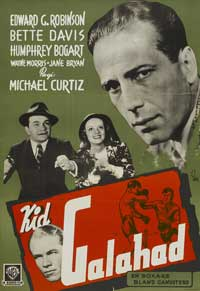 Kid Galahad - 27 x 40 Movie Poster - Swedish Style A