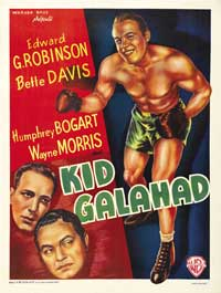 Kid Galahad - 27 x 40 Movie Poster - Belgian Style B
