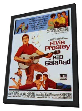 Kid Galahad - 11 x 17 Movie Poster - Style A - in Deluxe Wood Frame