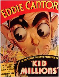 Kid Millions - 43 x 62 Movie Poster - Bus Shelter Style A