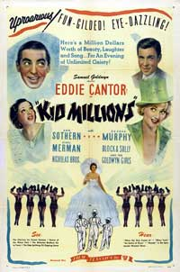 Kid Millions - 27 x 40 Movie Poster - Style B