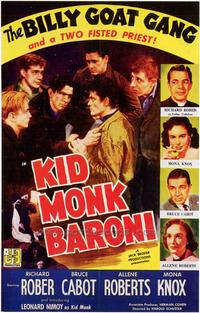 Kid Monk Baroni - 43 x 62 Movie Poster - Bus Shelter Style A