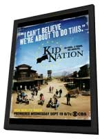 Kid Nation - 27 x 40 TV Poster - Style A - in Deluxe Wood Frame