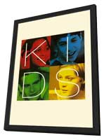Kids - 27 x 40 Movie Poster - Style C - in Deluxe Wood Frame