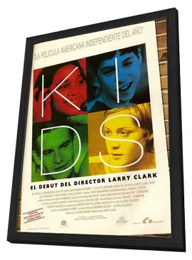 Kids - 11 x 17 Movie Poster - Spanish Style A - in Deluxe Wood Frame