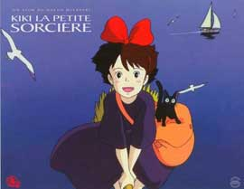 Kiki's Delivery Service - 11 x 14 Poster French Style A