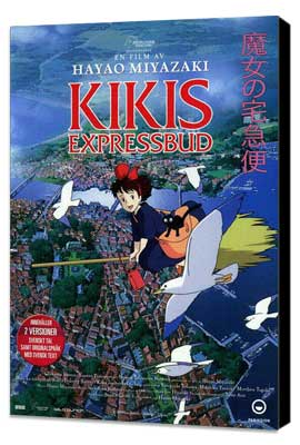 Kiki's Delivery Service - 11 x 17 Movie Poster - Swedish Style A - Museum Wrapped Canvas