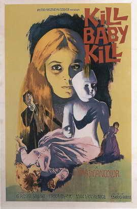 Kill, Baby, Kill - 11 x 17 Movie Poster - Style A