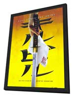 Kill Bill Vol. 1 - 11 x 17 Movie Poster - Style E - in Deluxe Wood Frame