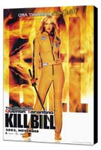 Kill Bill Vol. 1 - 27 x 40 Movie Poster - Style B - Museum Wrapped Canvas