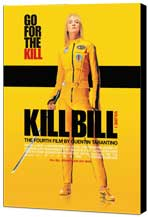 Kill Bill Vol. 1 - 27 x 40 Movie Poster - Danish Style A - Museum Wrapped Canvas