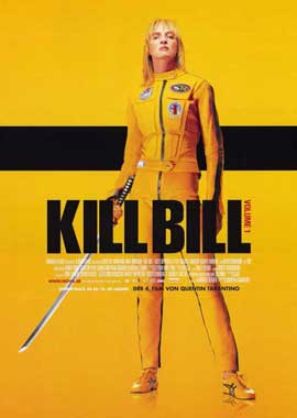 Kill Bill Vol. 1 - 11 x 17 Poster - Foreign - Style A