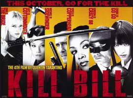 Kill Bill Vol. 1 - 11 x 17 Movie Poster - Style C