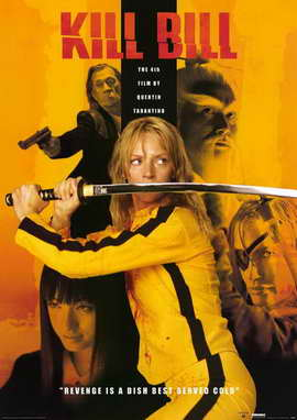 Kill Bill Vol. 1 - 11 x 17 Movie Poster - Style F