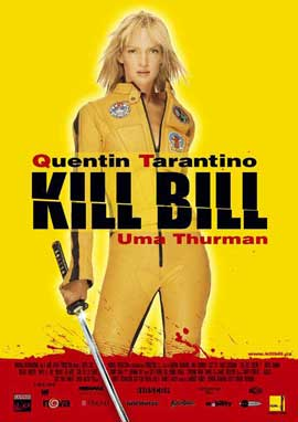 Kill Bill Vol. 1 - 11 x 17 Movie Poster - Italian Style A