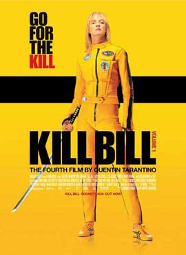 Kill Bill Vol. 1 - 11 x 17 Movie Poster - Danish Style A