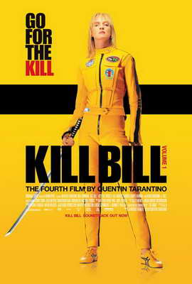Kill Bill Vol. 1 - 27 x 40 Movie Poster - Danish Style A