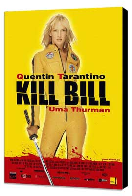 Kill Bill Vol. 1 - 27 x 40 Movie Poster - Italian Style A - Museum Wrapped Canvas