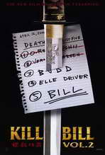 Kill Bill, Vol 2 - 11 x 17 Movie Poster - Style A